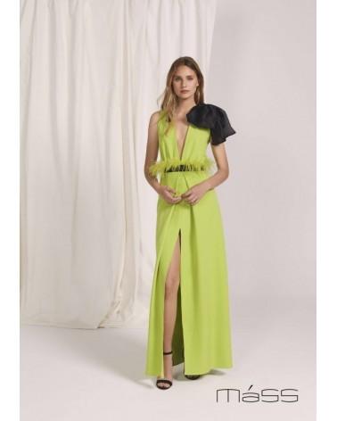 Vestido largo tull Matilde Cano