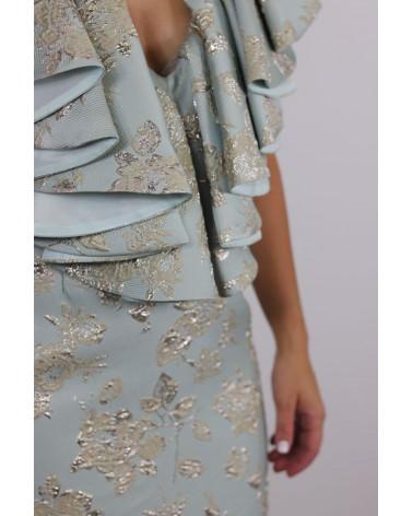 Vestido corto floral Matilde Cano