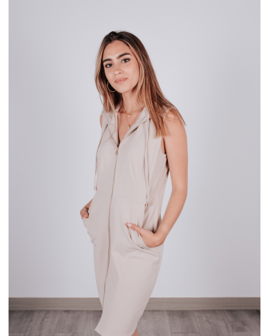 Vestido Crepé Matilde Cano