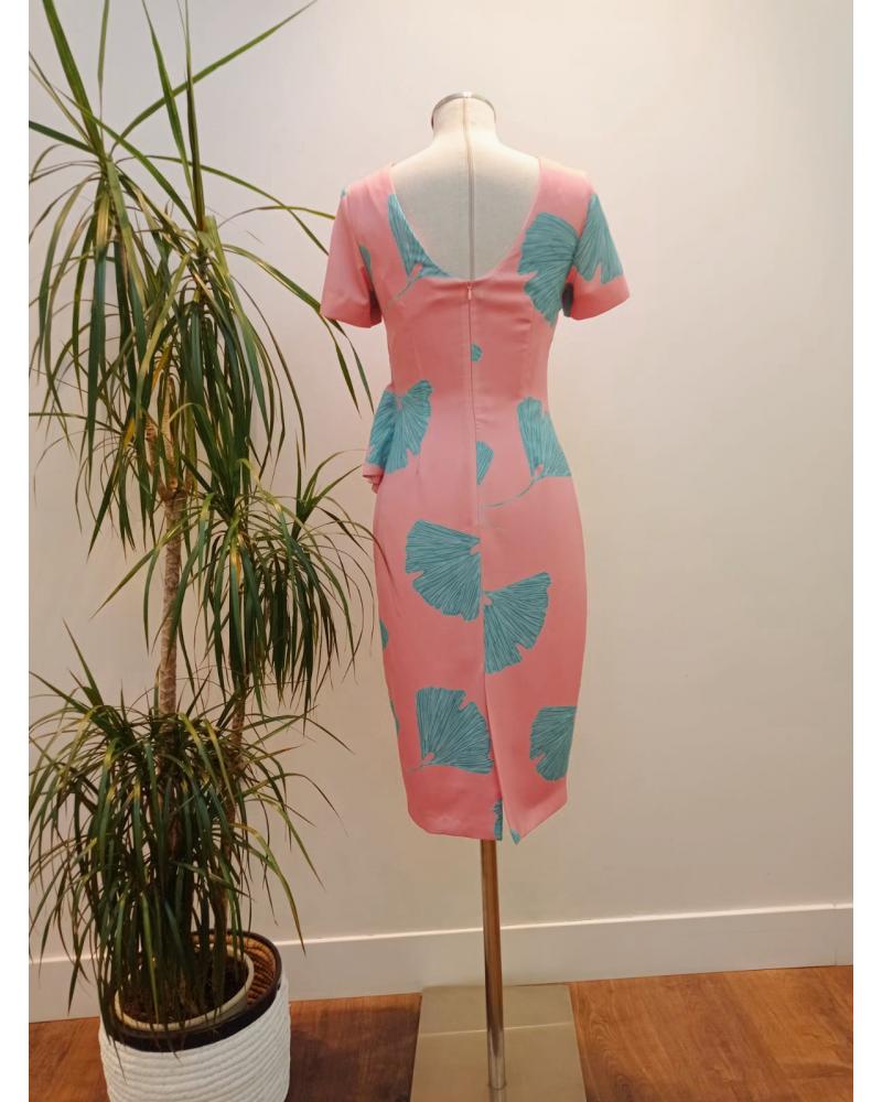 Vestido Kimono Matilde Cano Plisado